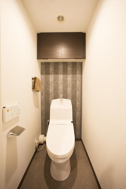 TOTO社製のトイレは、オートパワー脱臭も付いています