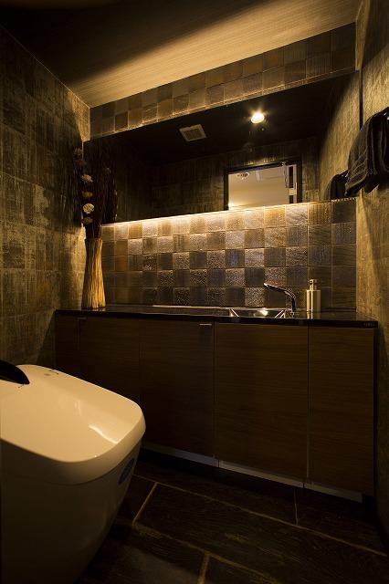 まるでホテルにいるかのよう   ラグジュアリーなトイレ