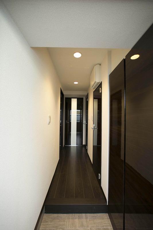 散らかりがちな玄関もスッキリの玄関収納付!