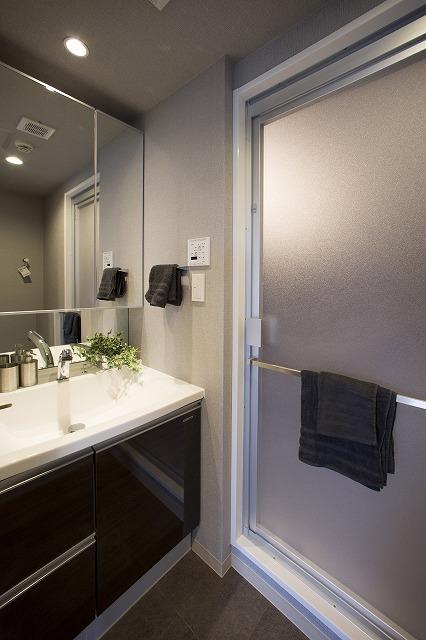 ゆとりの洗面室