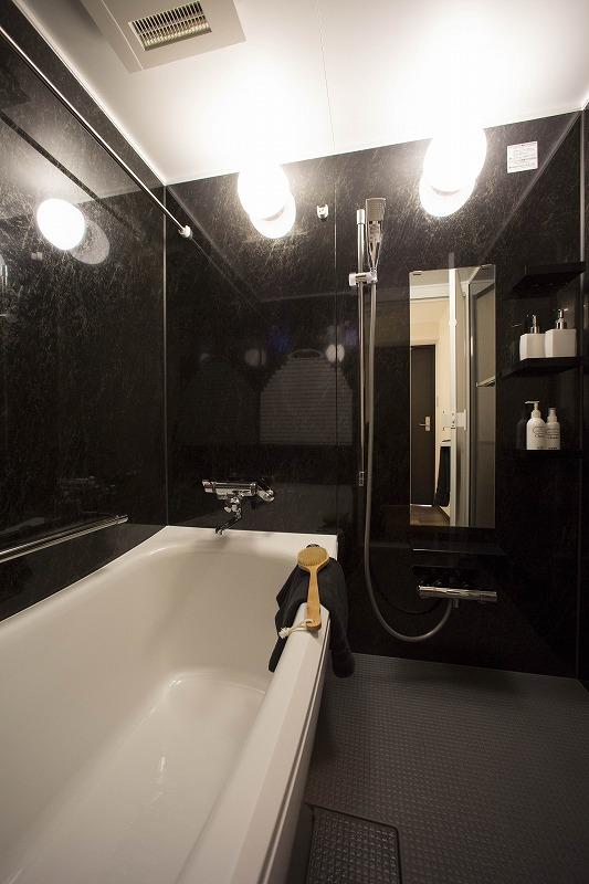 雨の日のお洗濯にも大活躍な浴室乾燥機付