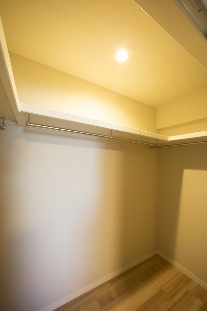便利な全居室収納スペース付