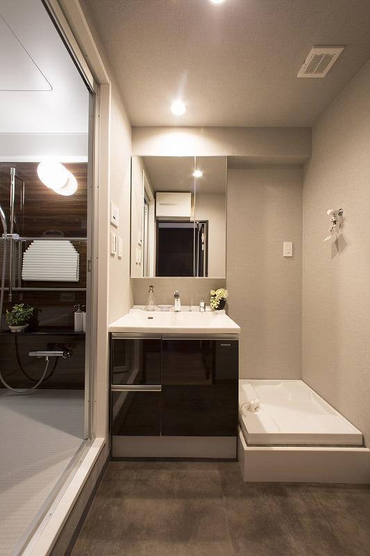 暮らしを快適に変えるシャワー付き洗面台